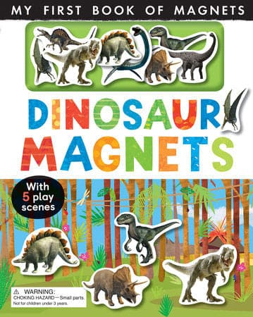 Dinosaur Magnets My First Book Of Magnets