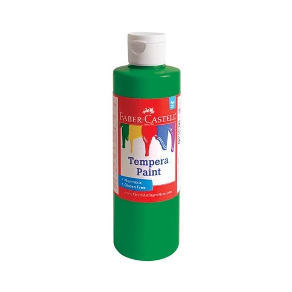 Faber Castell Green Tempera Paint (8 oz bottles) - Legacy Toys