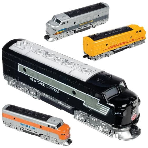 "7"" Diecast Classic Locomotive Train"