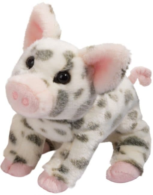 Pauline - Small Spotted Pig 9""
