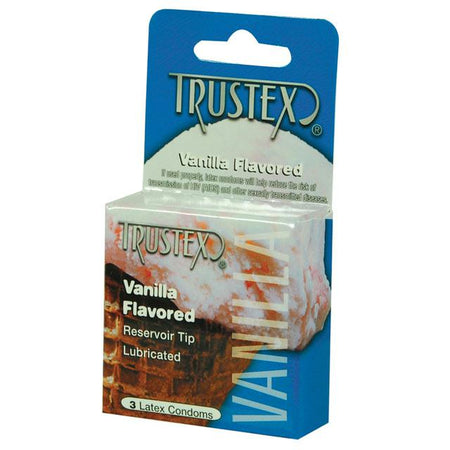 Trustex Flavored Condoms (Vanilla-3 Pack)