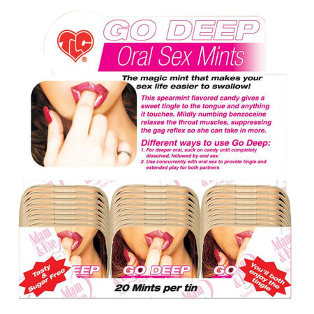 Go Deep Oral Sex Mints (24-Dp)
