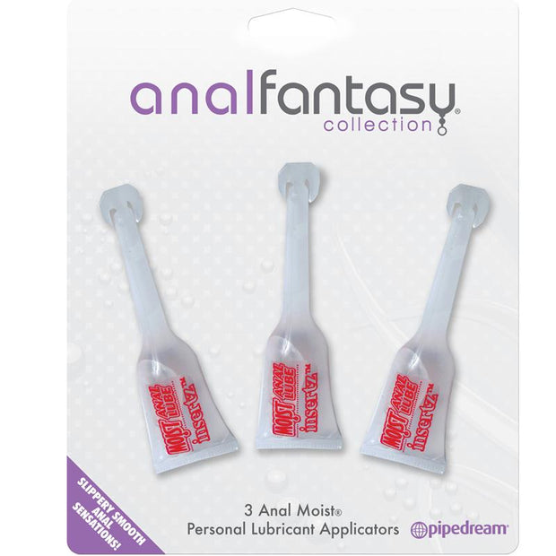 Anal Fantasy Collection Anal Moist Personal Lubricant Applicators