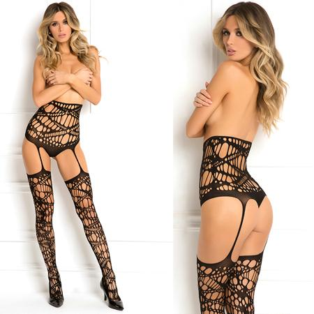 Topless Bodystocking Black O-S