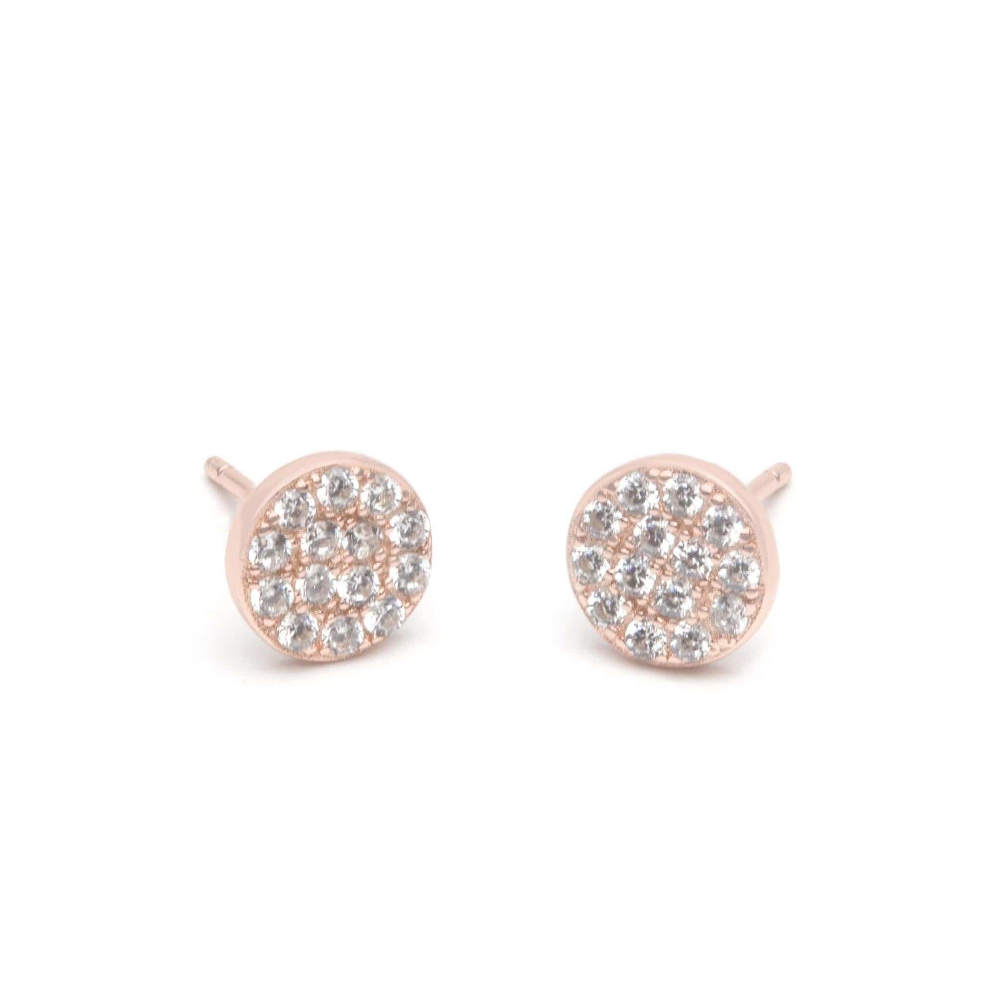 Jeanne's Jewels earrings Rose Gold Piper