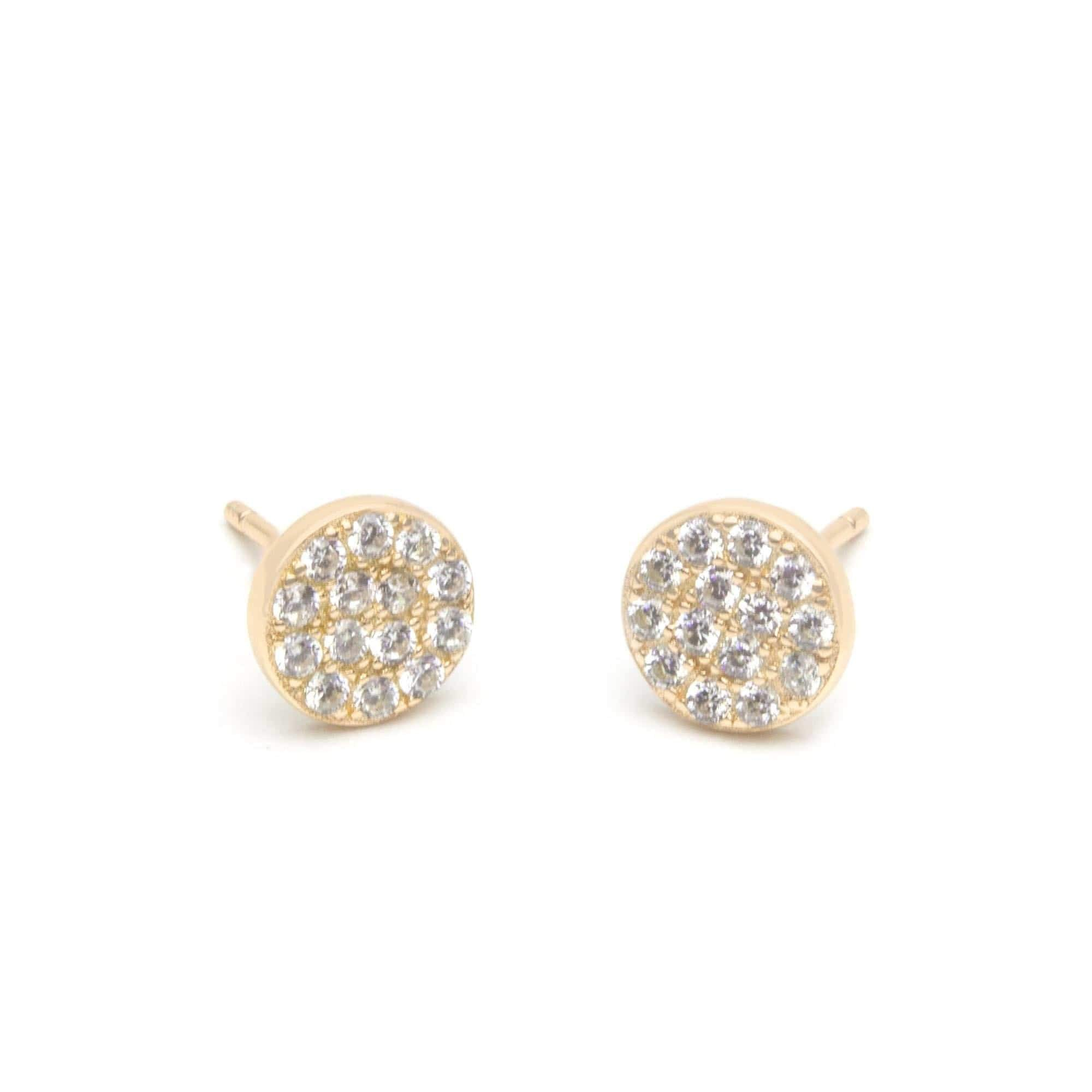 Jeanne's Jewels earrings Yellow Gold Piper