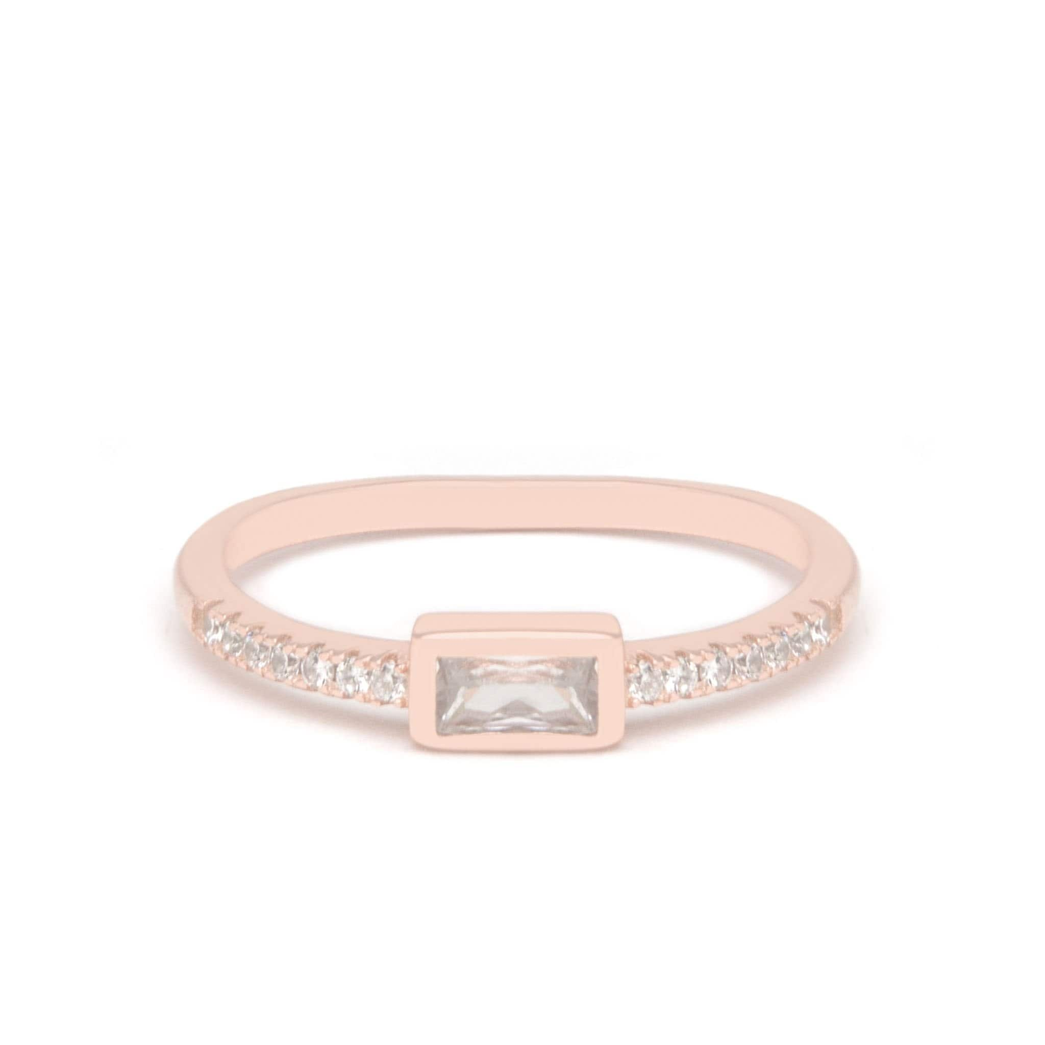 Jeanne's Jewels Rings Rose Gold / 5 Athena