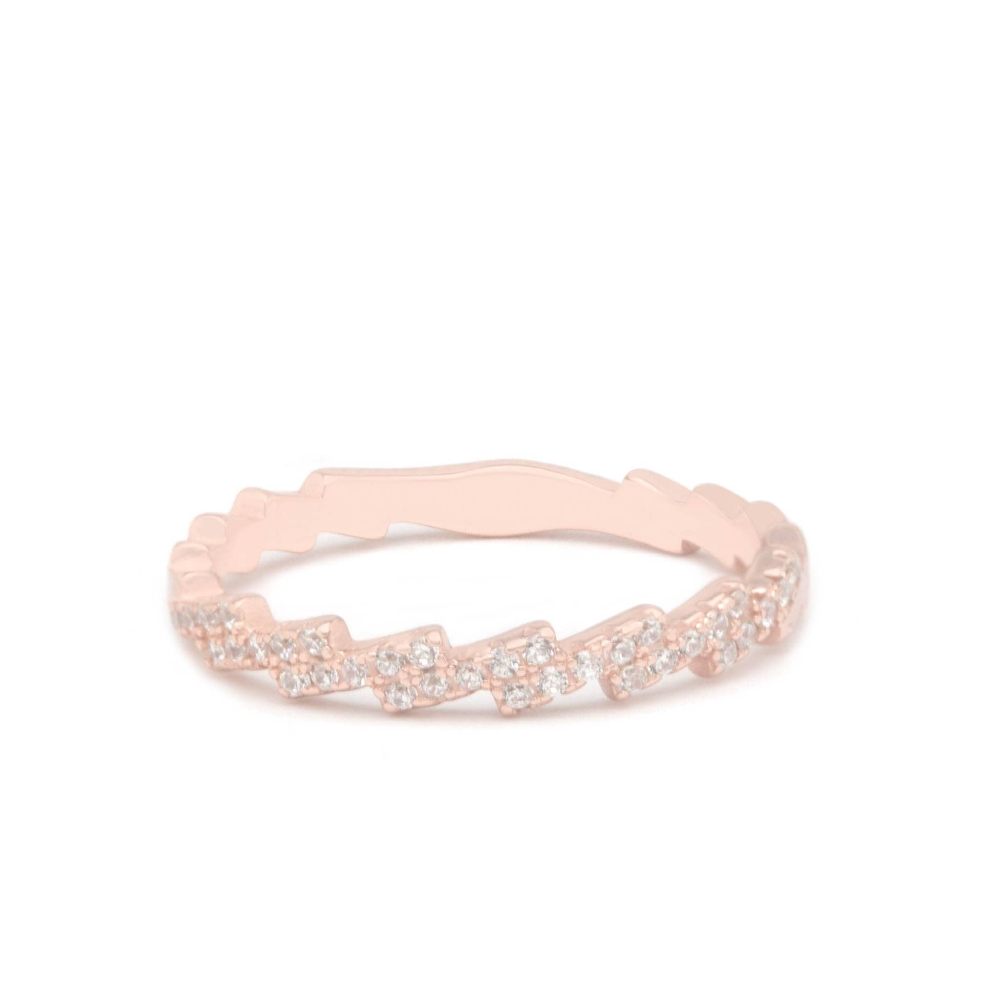 Jeanne's Jewels Rings Rose Gold / 5 Rylee