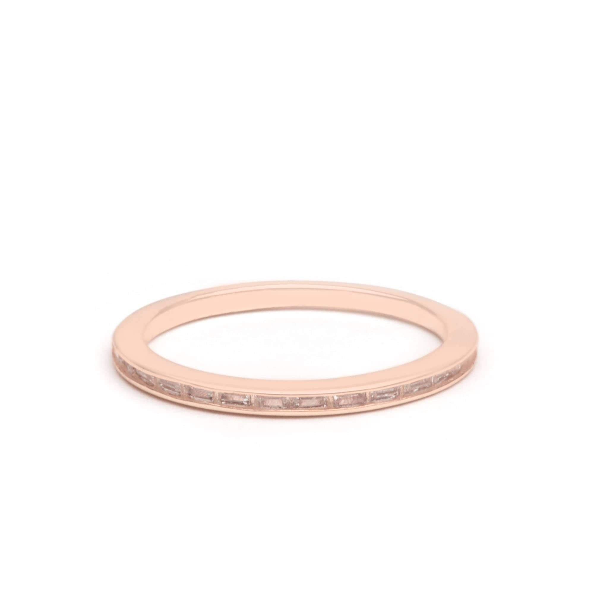 Jeanne's Jewels Rings Rose Gold / 5 Vivian