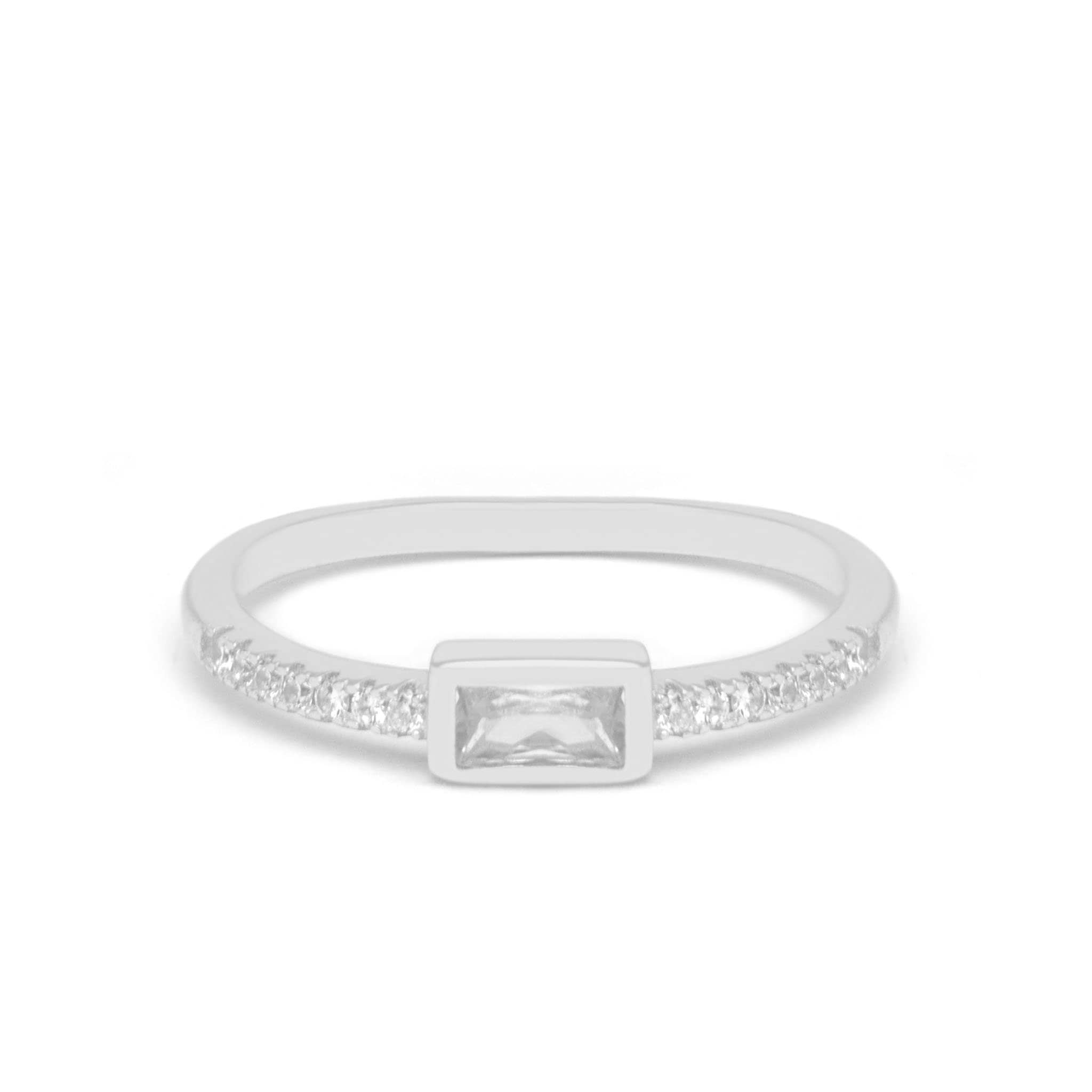 Jeanne's Jewels Rings White Gold / 5 Athena