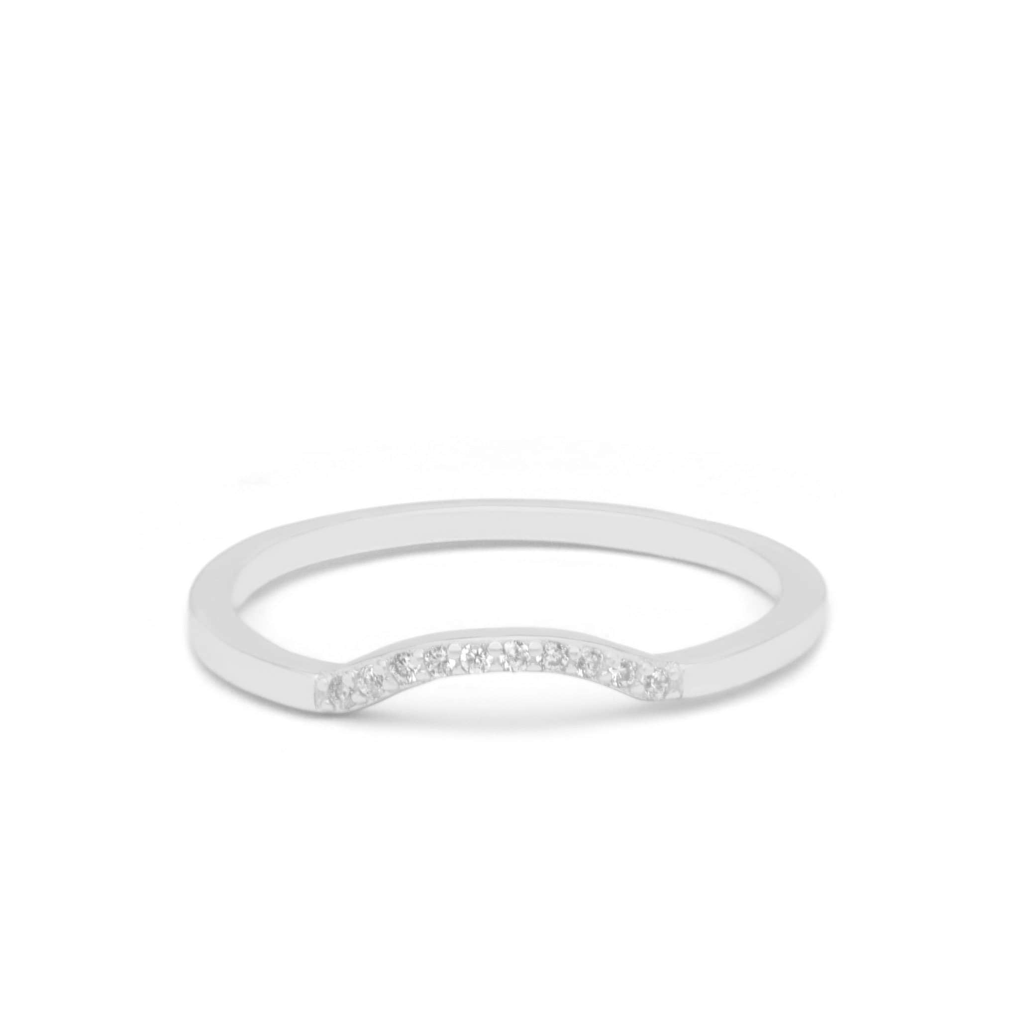 Jeanne's Jewels Rings White Gold / 5 Hadley