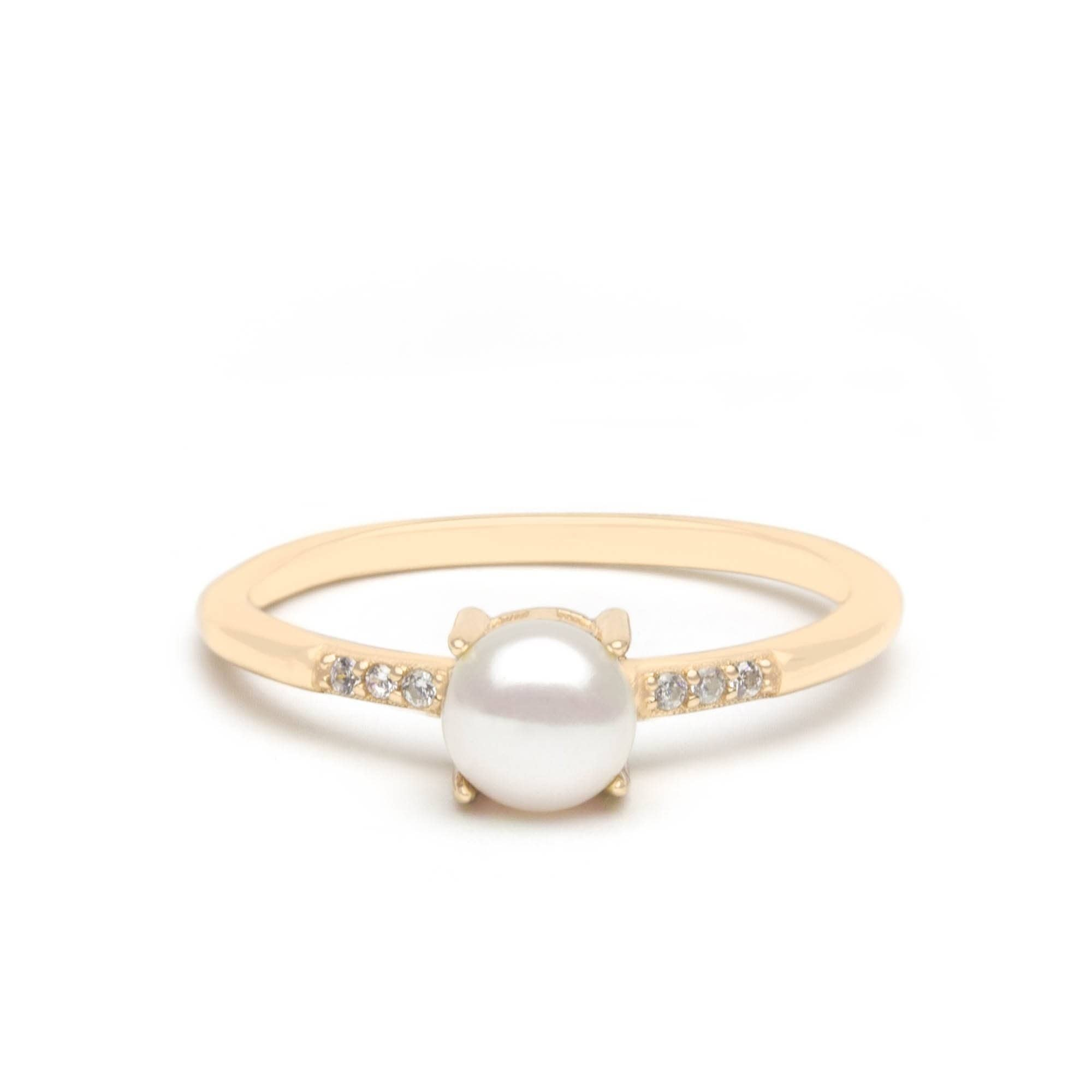 Jeanne's Jewels Rings Yellow Gold / 5 Emilia