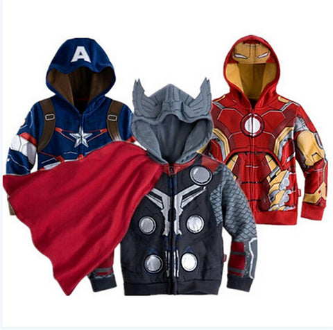 Kids Character Hooded Jacket 3 - 8 Years