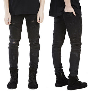 Men Skinny Strecth Jeans - Trendy Fashionista Inn