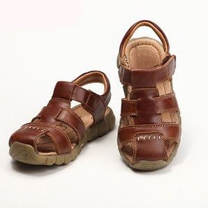 Genuine Leather Comfortable Boys Sandals