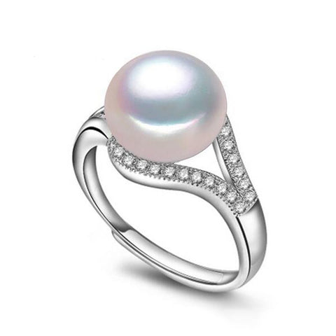 Freshwater Natural Pearl rings for women - Trendy Fashionista Inn