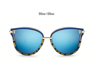 Hollow Sunglasses Mirror Women
