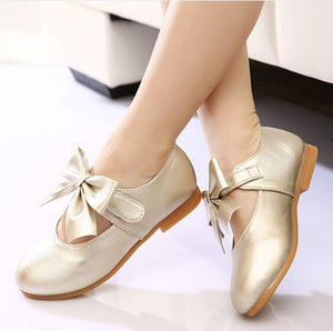 Flat Bow knot Cute Party Shoes