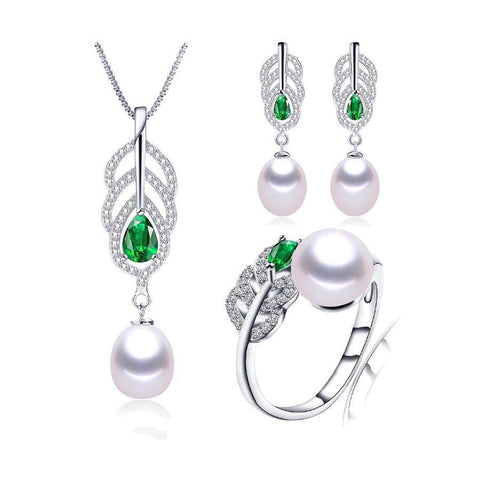 Most Fashionable Natural Pearl Jewelry Sets