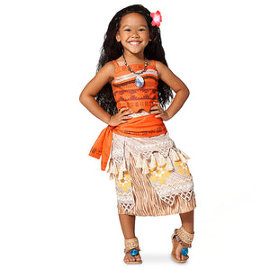 Moana Princess Cosplay Costume Dress 3 Year and Older