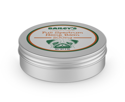 """BAILEYS"" 200MG Full Spectrum Hemp CBD Pet Balm"