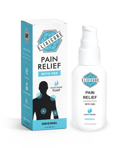 2 oz Original Pain Relief Cream Pump + 200 mg CBD