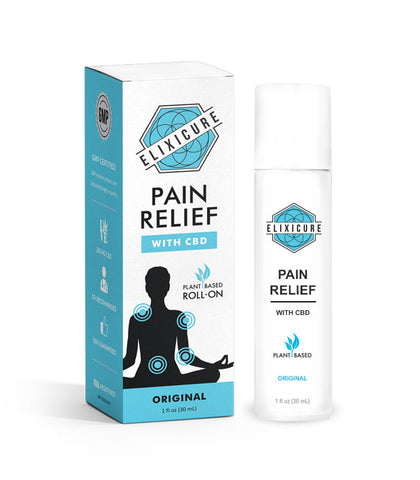 """ELIXICURE"" Pain Relief Roll-On"