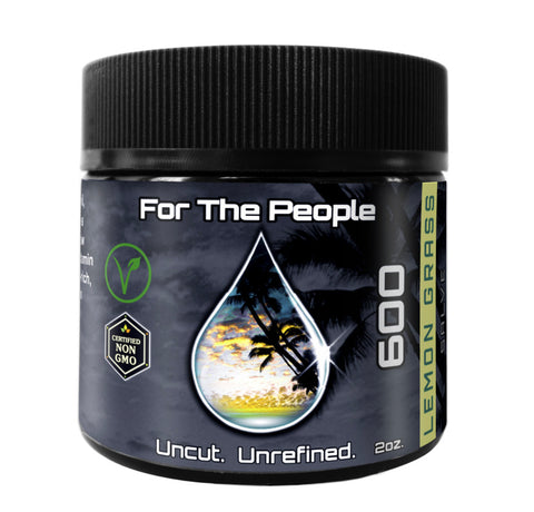 """FOR THE PEOPLE"" DARK UNREFINED SALVE (LEMON GRASS) – 600mg"