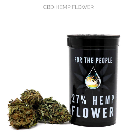 """FOR THE PEOPLE"" Premium CBD Flower Nugs (27%)"