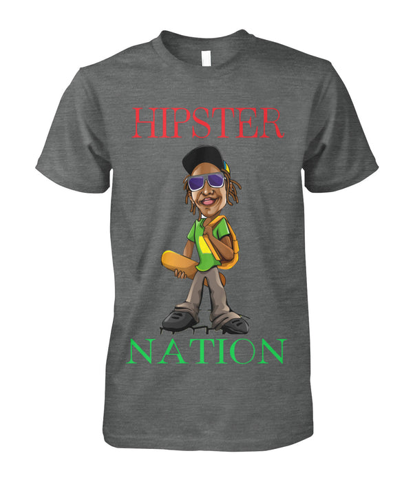 Hipster Nation Men's Tee