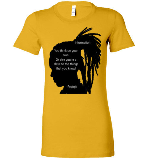 Power of Information- Protoje Women's Tee