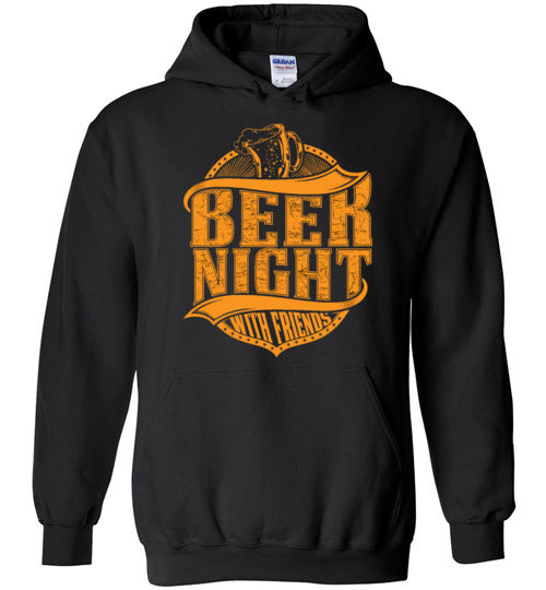 Beer Night with Friends Unisex Hoodie