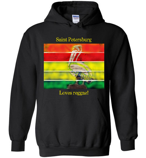 Saint Petersburg Loves Reggae Hoodie