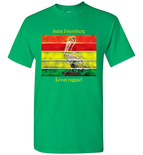 Saint Petersburg Loves Reggae Men's Tee