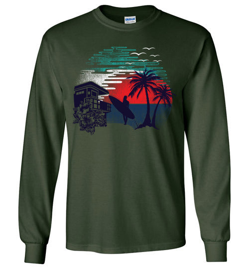 Surf and Shine Unisex Long Sleeve Tee