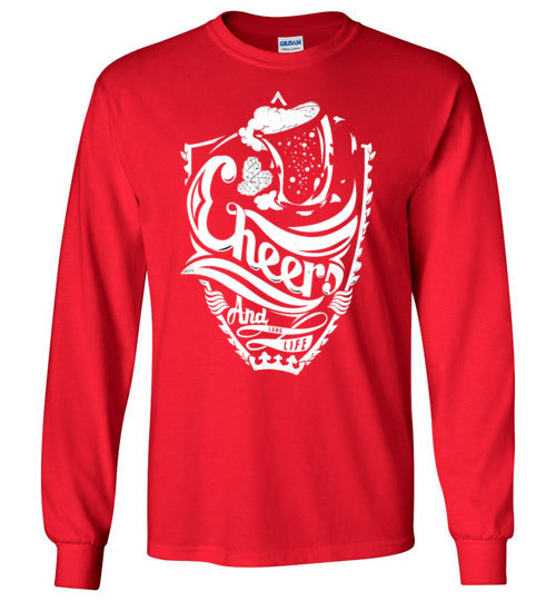 CHEERS Unisex Long Sleeve Tee