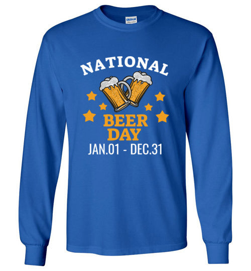 National Beer Day! Unisex Long Sleeve Tee