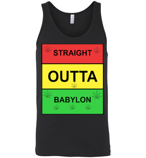 Men's Straight Outta Babylon Tank Top