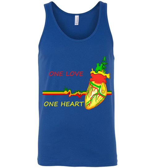One Love One Heart Men's Tank Top