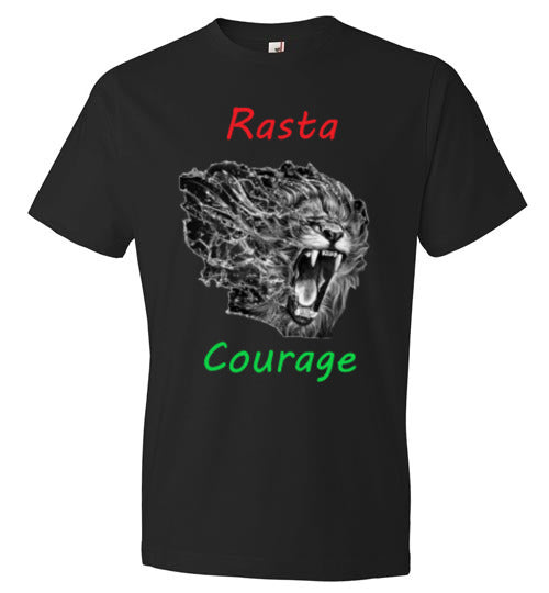 Rasta Courage Men's Tee