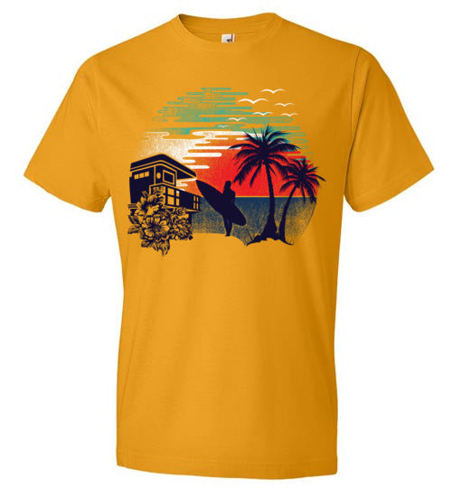 Surf and Shine Men's Tee