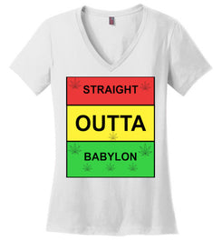 Women's Straight Outta Babylon Tee