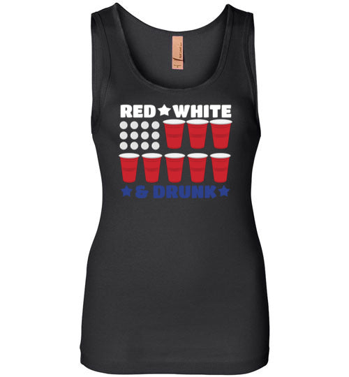 Red, White, And DRUNK!!! T Shirt
