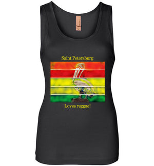 Saint Petersburg Loves Reggae Women's Tank Top