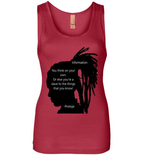 Power of Information- Protoje Women's Tank Top