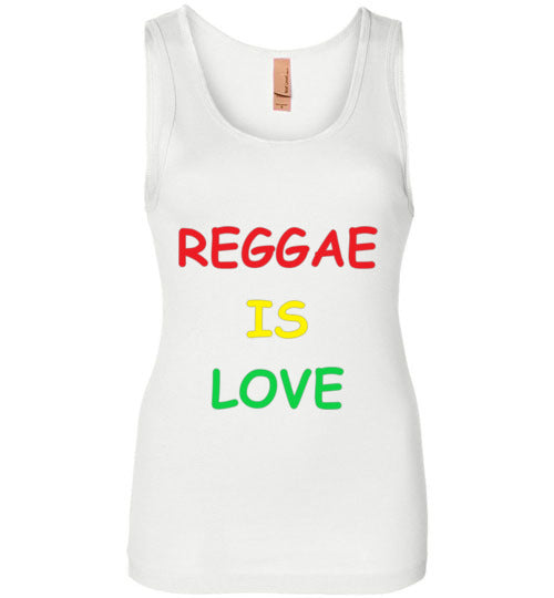 Women's Reggae is love Tank Top