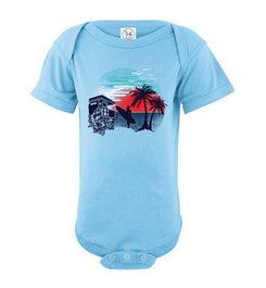 Surf and Shine Infant Bodysuit