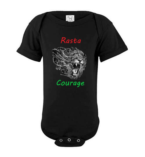 Rasta Courage Infant Bodysuit