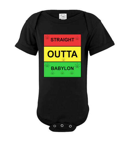 Infant Straight Outta Babylon Onsie