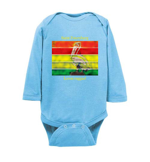 Saint Petersburg Loves Reggae Baby Bodysuit